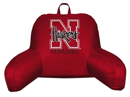 Nebraska Cornhuskers Bedrest Pillow