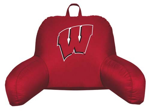 Wisconsin Badgers Bedrest Pillow