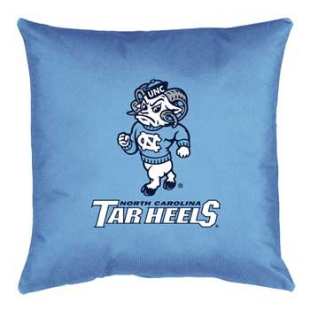 "North Carolina Tar Heels Locker Room Accent Pillow - 17"" X 17"""
