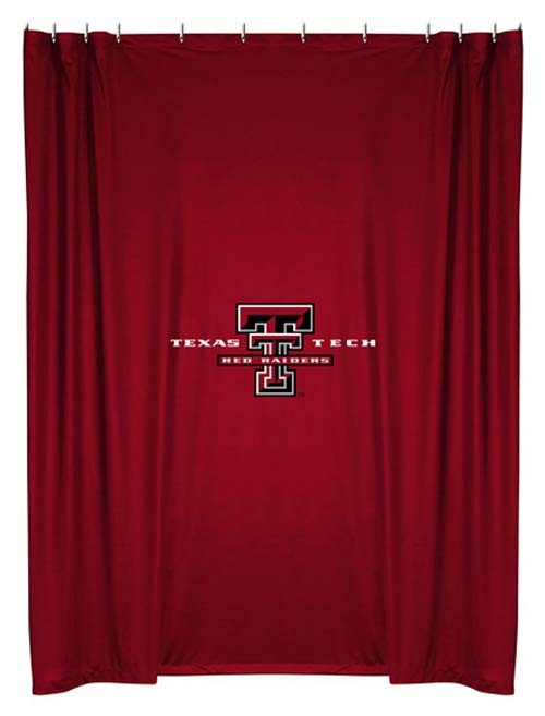 Texas Tech Raiders Shower Curtain - Blanket Warehouse