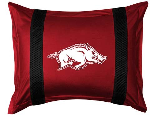 Arkansas Razorbacks Locker Room Pillow Sham