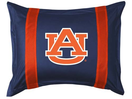 Auburn Tigers Locker Room Pillow Sham