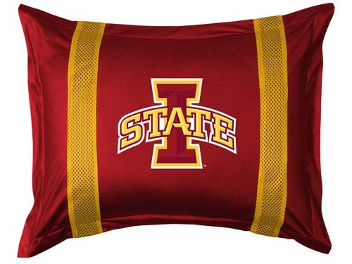 Iowa State Cyclones Locker Room Pillow Sham