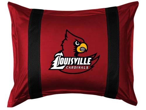 Louisville Cardinals Locker Room Pillow Sham