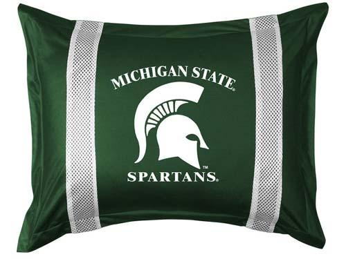 Michigan State Spartans Locker Room Pillow Sham