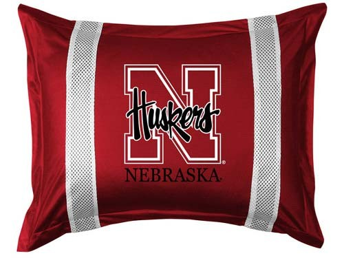 Nebraska Cornhuskers Locker Room Pillow Sham
