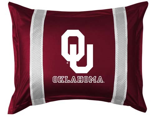 Oklahoma Sooners Locker Room Pillow Sham