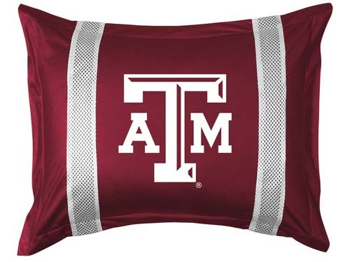Texas A&M Aggies Locker Room Pillow Sham