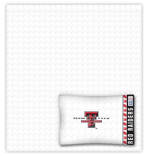 Texas Tech Red Raiders Twin Size Sheets Set