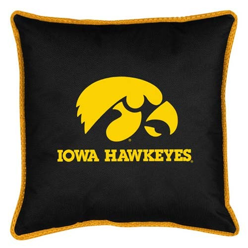 "Iowa Hawkeyes  17"" X 17"" Sideline Accent Pillow"