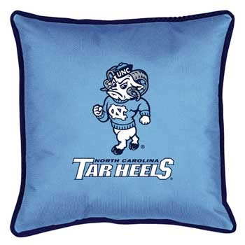 "North Carolina Tar Heels Toss Pillow - 18"" X 18"" Sideline Toss Pillow"