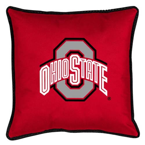 "Ohio State Buckeyes Toss Pillow - 18"" X 18"" Sideline Toss Pillow"