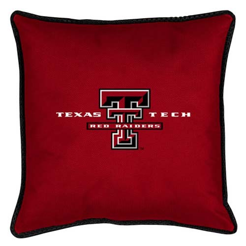 "Texas Tech Red Raiders Sideline Pillow - 17"" X 17"""