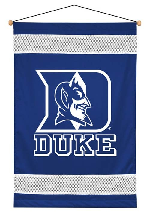 Duke Blue Devils Sideline Wall Hanging - 28 X 45