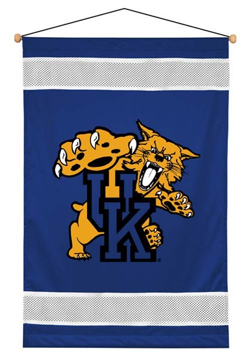 Kentucky Wildcats Sideline Wall Hanging - 28 X 45