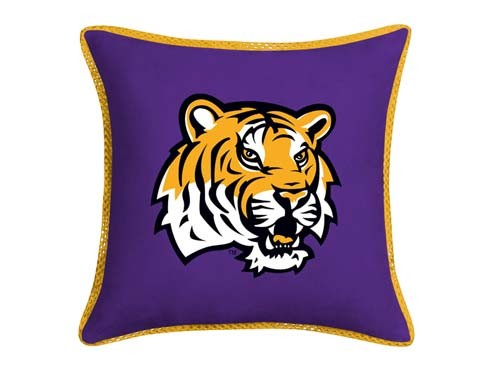 LSU Tigers MVP Pillow - 18X18