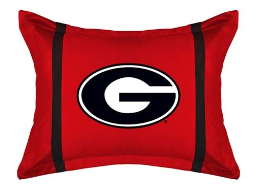 Georgia Bulldogs MVP Pillow Sham