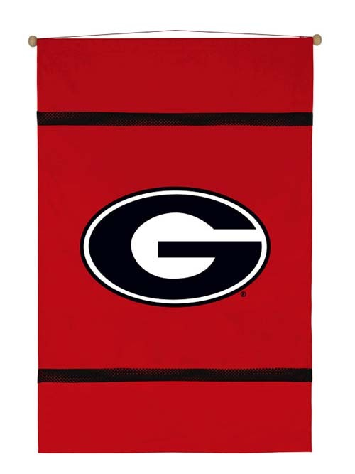 Georgia Bulldogs MVP Wall Hanging - 28 X 45