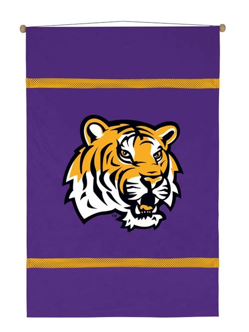 LSU Tigers MVP Wall Hanging - 28 X 45