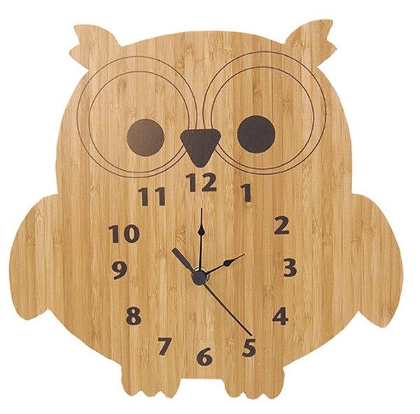 Wall Clock - Owl
