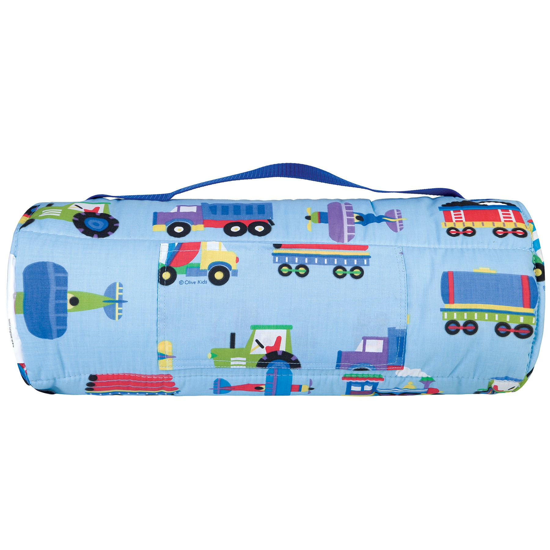 Trains Plans Amp Trucks Olive Kids Bedding Nap Mat