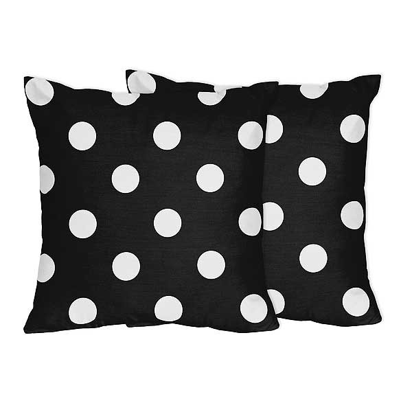 Hot Dot Accent Pillows - Set of 2