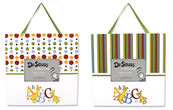 Dr Seuss Abc Frame Set