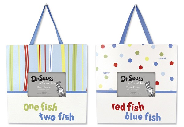 Dr Seuss One Fish, Two Fish Frame Set