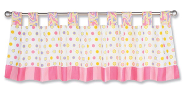 DR. SEUSS PINK OH! THE PLACES YOU'LL GO! - WINDOW VALANCE