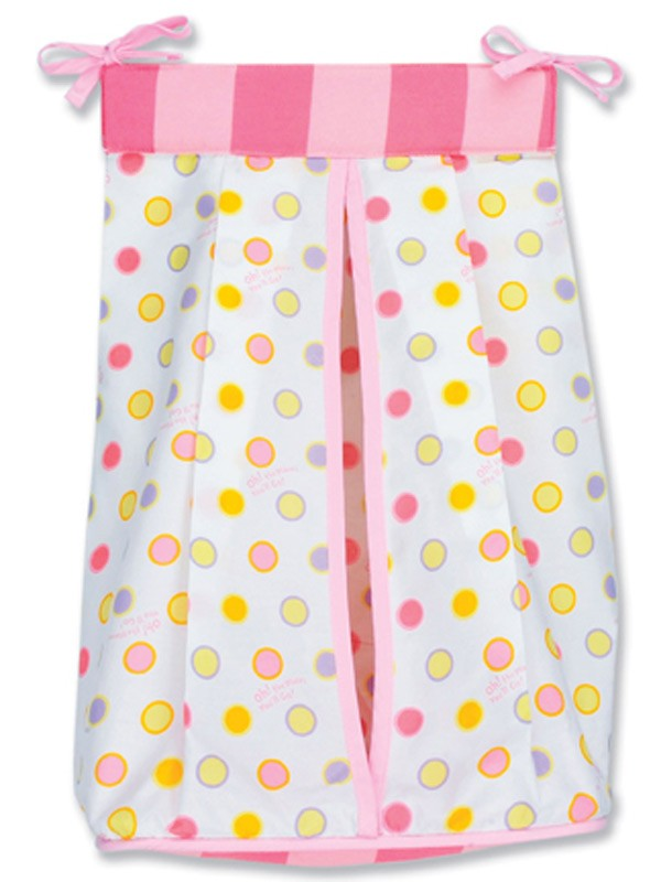 Dr Seuss Oh The Places You'll Go (Pink) Diaper Stacker