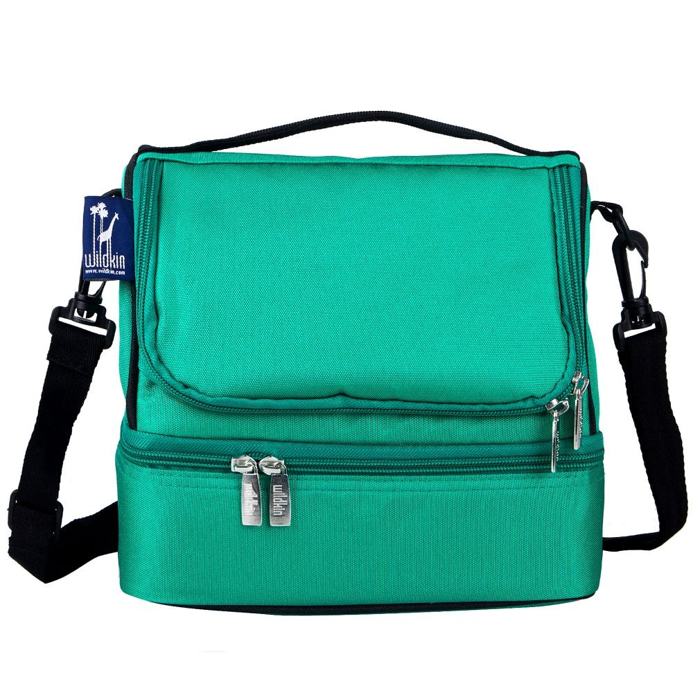 Emerald Green Double Decker Lunch Bag Blanket Warehouse