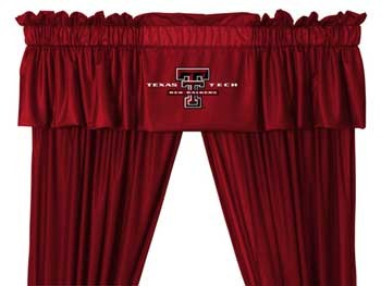 Texas Tech Raiders Valance