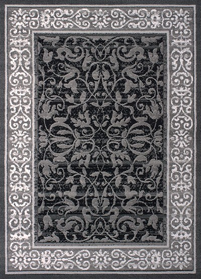 Area Rug Baroness Grey 23 Quot Width X 36 Quot Length Area