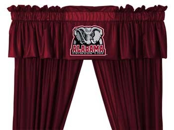 Alabama Crimson Tide Valance