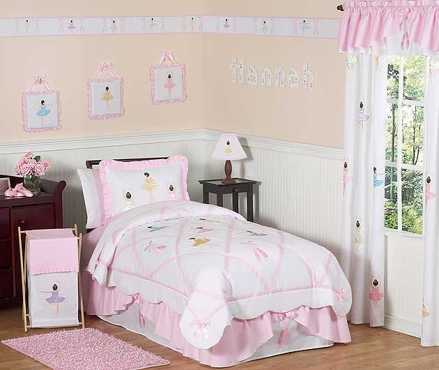 Ballerina Comforter Set - 3 Piece Full/Queen Size By Sweet Jojo Designs