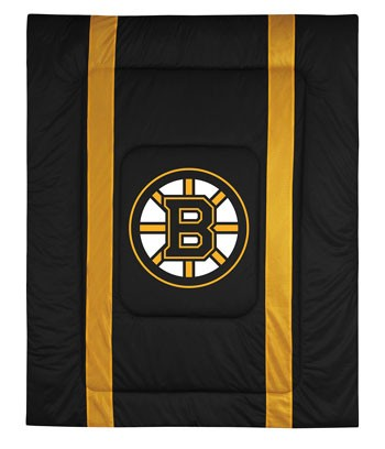 Boston Bruins Sideline Comforter