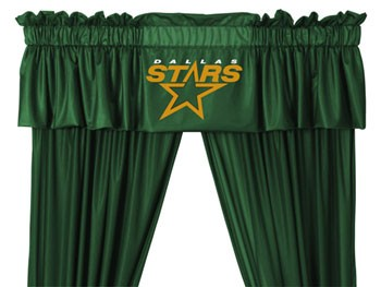 Dallas Stars Valance