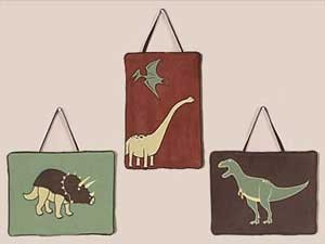 Dinosaur Land Wall Hanging
