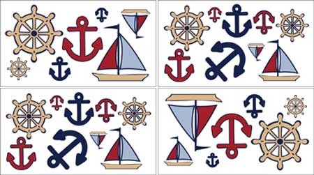 Nautical Nights Wall Decals