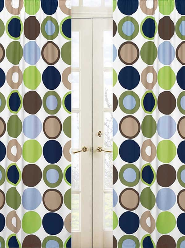Designer Dot Window Panels