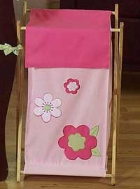 Flower Pink And Green Hamper
