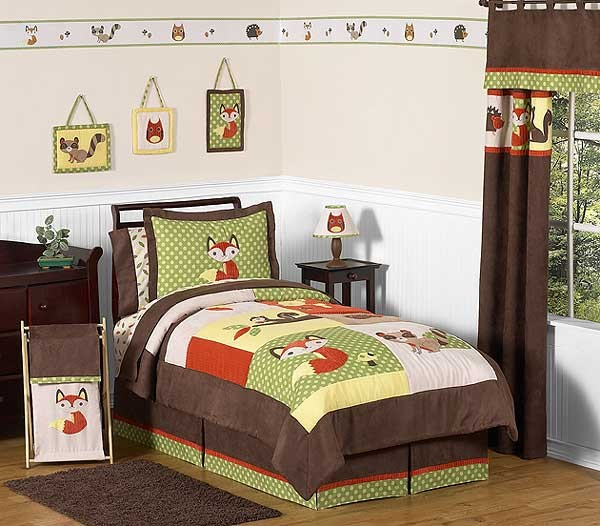 Forest Friends Comforter Set - 3 Piece Full/Queen Size by Sweet Jojo Designs