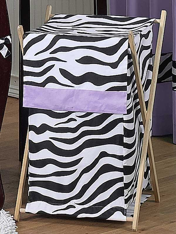 Purple Zebra Hamper