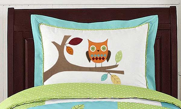 Hooty the Owl Pillow Sham