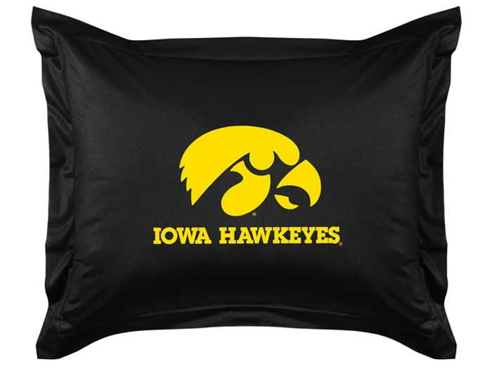 Iowa Hawkeyes Sideline Pillow Sham