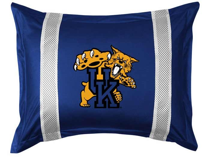 Kentucky Wildcats Sideline Pillow Sham