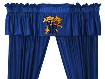 Kentucky Wildcats Valance