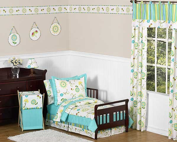 Layla Toddler Bedding Set By Sweet Jojo Designs
