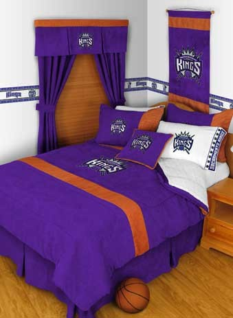 "Sacramento Kings MVP Pillow - 17"" X 17"""