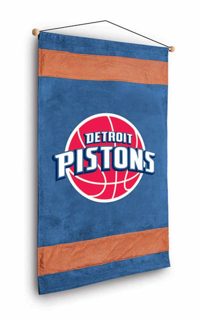 Detroit Pistons MVP Wall Hanging - 28 X 45